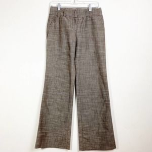BWEAR BYER CALIFORNIA WIDE LEG PANTS BROWN SZ 7